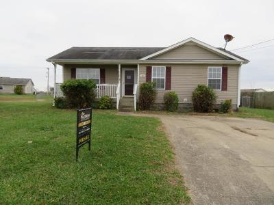 Oak Grove Single Family Home Under Contract - Not Showing: 102 Josephines Ct
