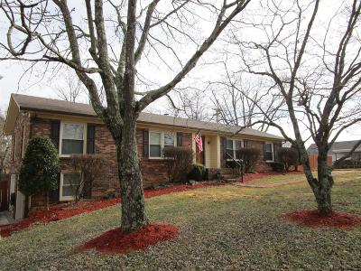Robertson County Single Family Home Under Contract - Not Showing: 204 Hamlett Dr