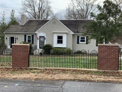 Shelbyville Single Family Home For Sale: 1106 S Brittain St