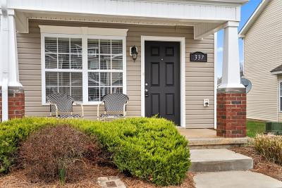 Clarksville Single Family Home Under Contract - Showing: 337 Sam Houston Cir