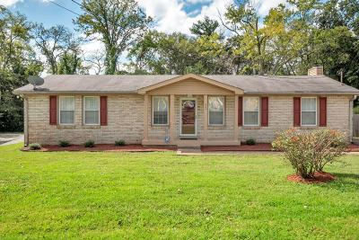 Nashville Single Family Home Under Contract - Showing: 2711 Edge O Lake Dr