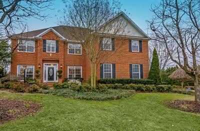 Franklin Single Family Home Under Contract - Not Showing: 201 Dandridge Drive