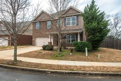Brentwood  Single Family Home Under Contract - Showing: 7395 Autumn Crossing Way
