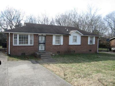 Nashville Single Family Home Under Contract - Not Showing: 661 Revels Dr