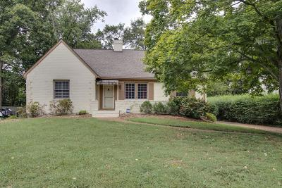 Green Hills Single Family Home Under Contract - Showing: 3509 Woodmont Ln