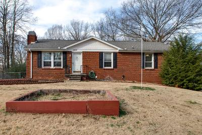Clarksville Single Family Home For Sale: 1802 Warren Dr