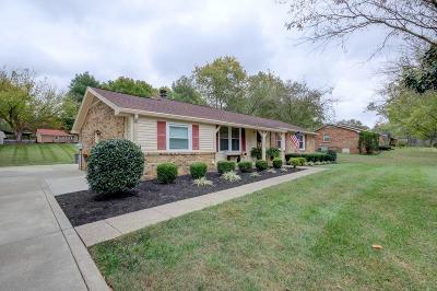 Clarksville Single Family Home Under Contract - Showing: 1789 Warfield Dr