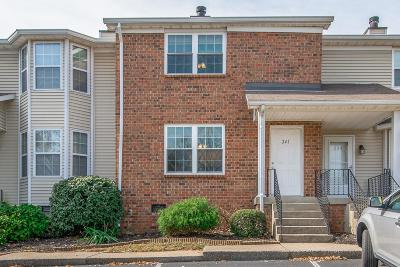 Nashville Condo/Townhouse For Sale: 241 Timberway Dr