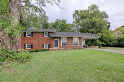 Clarksville Single Family Home For Sale: 407 Burch Rd