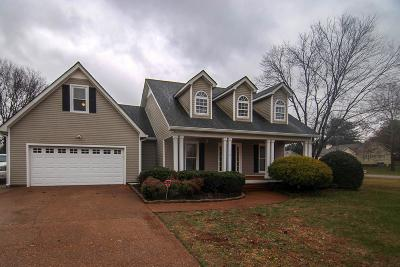 Columbia Single Family Home Under Contract - Not Showing: 110 Creekside Dr