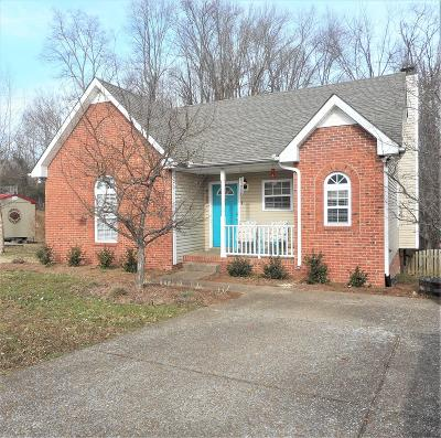 Robertson County Single Family Home Under Contract - Showing: 4109 Turners Bnd