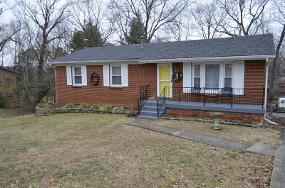 Clarksville Single Family Home Under Contract - Showing: 109 Preston Dr