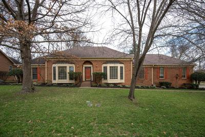 Hendersonville Single Family Home Under Contract - Showing: 110 Hickory Trl