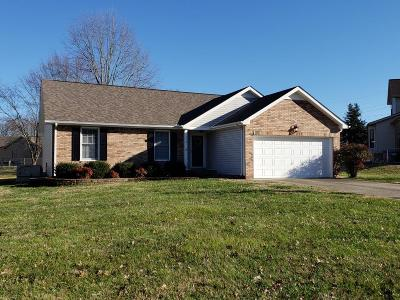 Clarksville Single Family Home Under Contract - Not Showing: 153 Shady Maple Dr