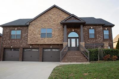 Clarksville Single Family Home Under Contract - Not Showing: 164 Covey Rise Circle
