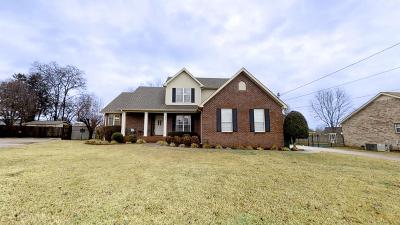 Single Family Home Under Contract - Not Showing: 102 Andy Johns Ct