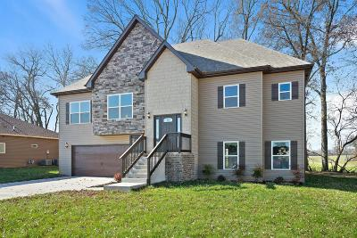 Clarksville Single Family Home Under Contract - Not Showing: 1048 Michaela Circle