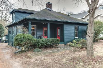 Brentwood, Franklin Single Family Home Under Contract - Not Showing: 120 Old Liberty Pike