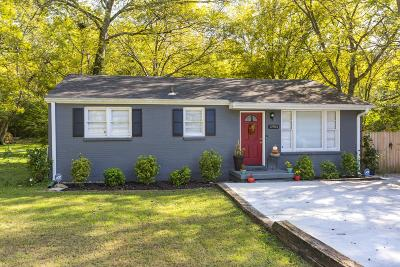 Nashville Single Family Home Under Contract - Showing: 2903 Jones Ave