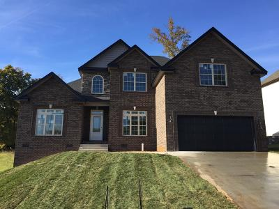 Clarksville Single Family Home For Sale: 173 Timber Springs
