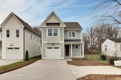 Nashville Single Family Home For Sale: 1507 A Wayne Dr