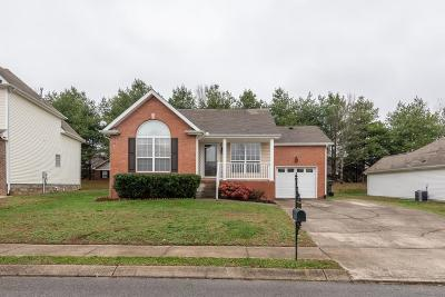Gallatin Single Family Home Under Contract - Not Showing: 1384 Harrington Dr