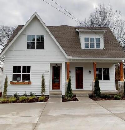 Nashville Single Family Home For Sale: 912 A West Ave