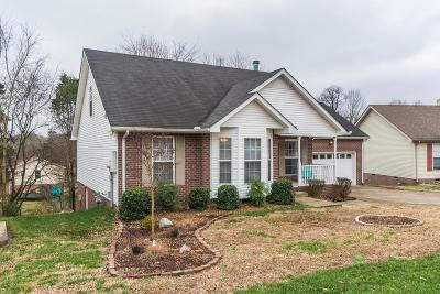 Hendersonville Single Family Home Under Contract - Showing: 118 Homestead Pl