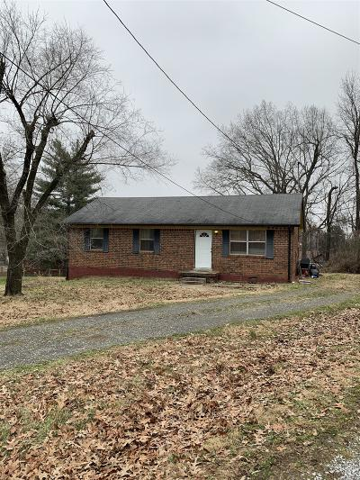Clarksville Single Family Home For Sale: 609 Lafayette Ct