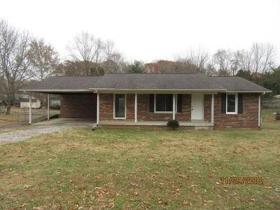 Clarksville Single Family Home Under Contract - Not Showing: 160 Taft Dr