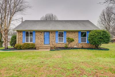 Hendersonville Single Family Home Under Contract - Not Showing: 127 Southburn Dr