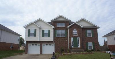 Clarksville Single Family Home For Sale: 3445 Quicksilver Ln