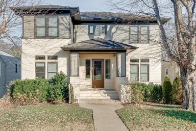 Nashville Single Family Home For Sale: 5004 Idaho Ave