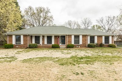 Gallatin Single Family Home For Sale: 1010 Brookwood Dr