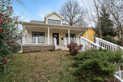 Nashville Single Family Home Under Contract - Showing: 1411 Forrest Ave