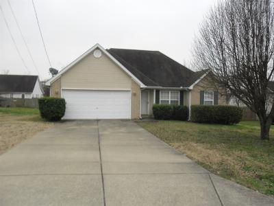 Lavergne Single Family Home Under Contract - Not Showing: 1017 Betty Lou Ln
