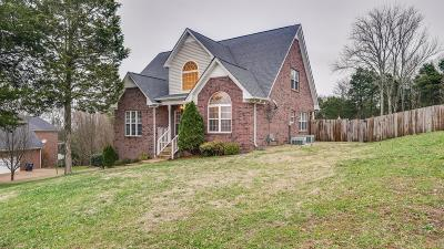 Nolensville Single Family Home Under Contract - Not Showing: 1141 Ben Hill Blvd