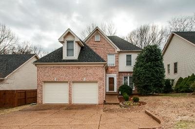 Single Family Home For Sale: 820 Percy Warner Blvd