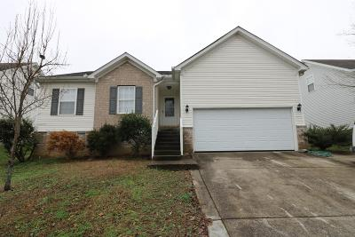 Lavergne Single Family Home Under Contract - Not Showing: 1022 Tom Hailey Blvd