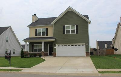 Clarksville Single Family Home Under Contract - Not Showing: 928 Cherry Blossom Ln
