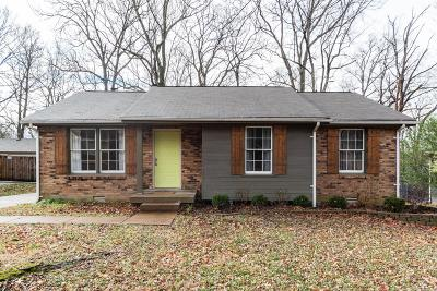 Donelson Single Family Home Under Contract - Showing: 924 Wemberton Dr