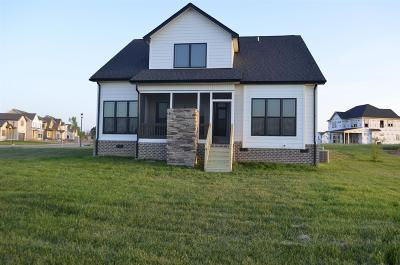 Clarksville Single Family Home Under Contract - Showing: 3 Hereford Farms