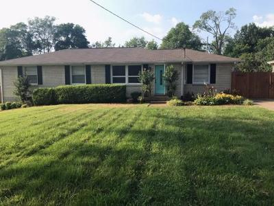 Hendersonville Single Family Home Under Contract - Not Showing: 114 McBratney Dr