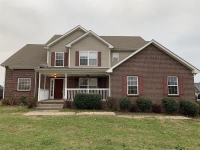 Clarksville Single Family Home Under Contract - Not Showing: 3156 Twelve Oaks Blvd