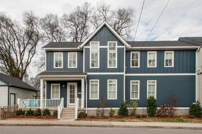 Nashville Single Family Home For Sale: 506 Garfield St