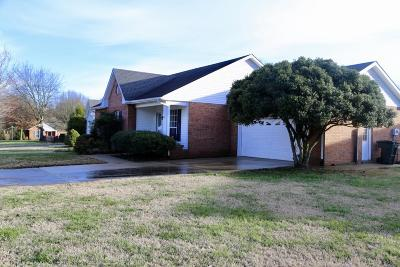 Gallatin Single Family Home Under Contract - Not Showing: 583 Cottonwood Dr