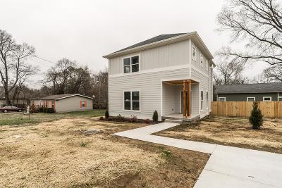 Single Family Home For Sale: 4002 Burrus St