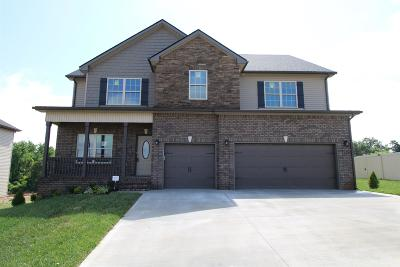 Clarksville Single Family Home Under Contract - Showing: 273 The Groves At Hearthstone