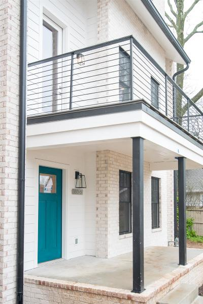 Nashville Single Family Home Under Contract - Not Showing: 1813 Beech Ave Unit 5