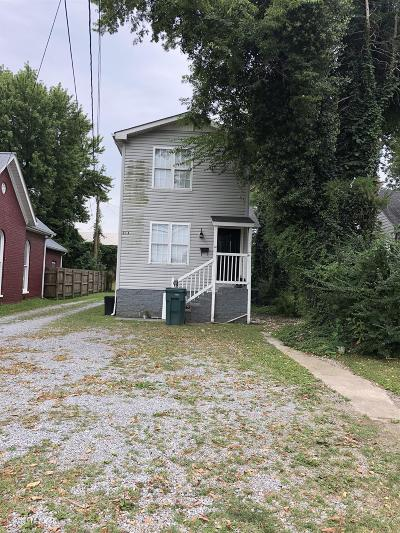 Lebanon Single Family Home For Sale: 216 W Gay St